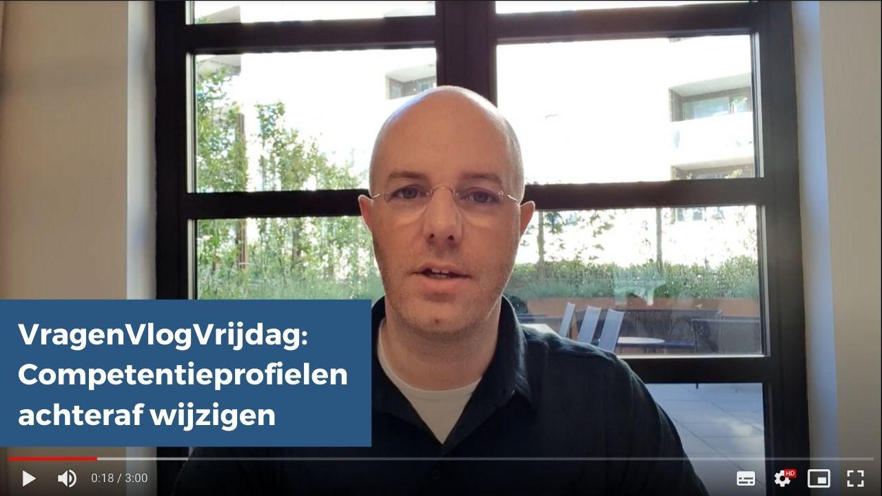 VragenVlogVrijdag competentieprofielen wijzijgen