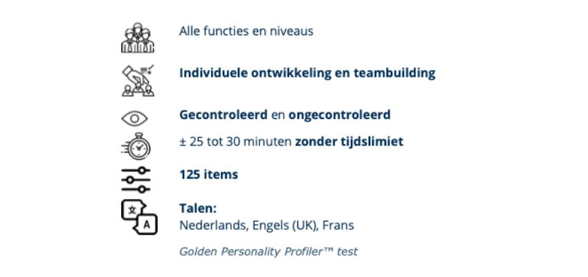 Golden Personality Profiler - Pearson
