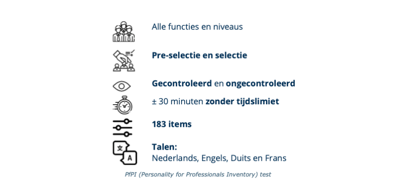 Personality for Professionals Inventory - Pearson