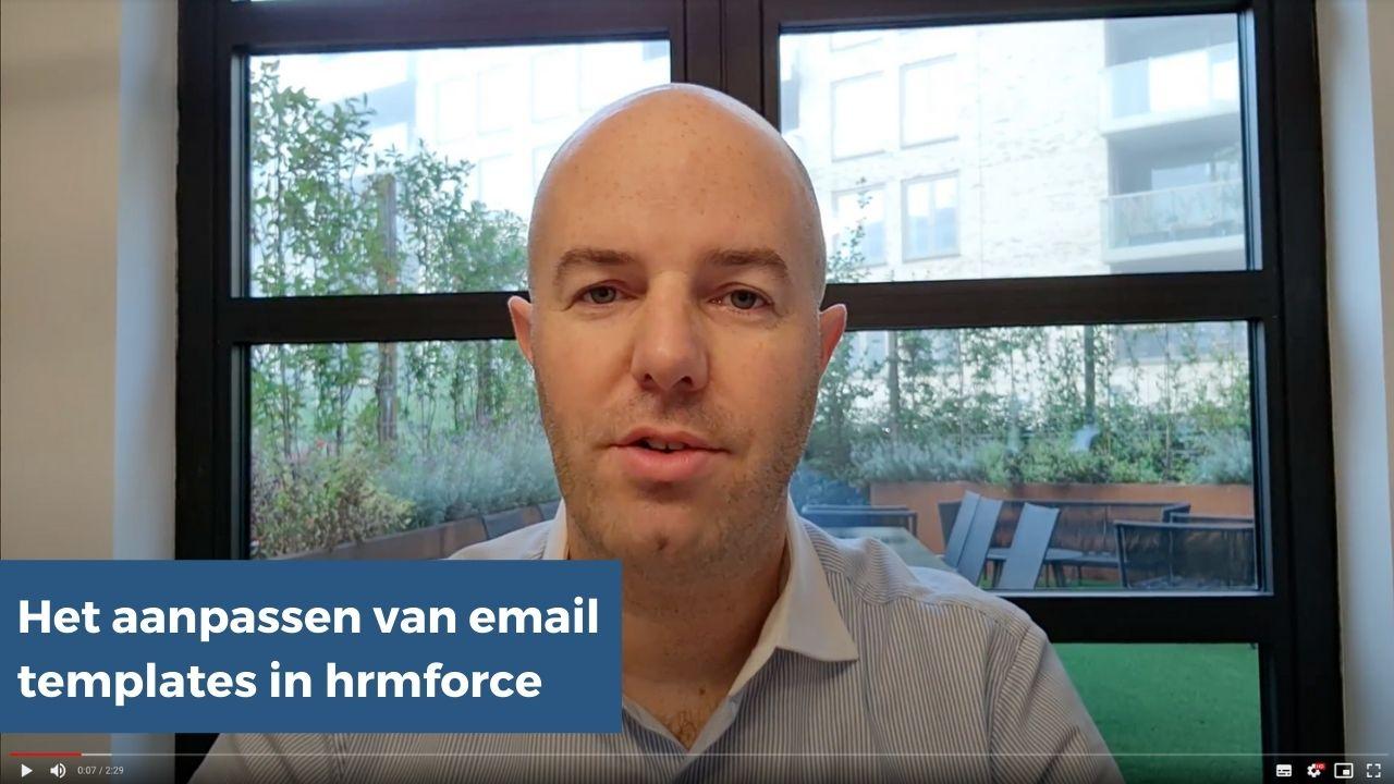 VVV Aanpassen email templates